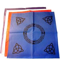 Altar cloths and pentacles