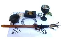 Altar accessories and ritual needs