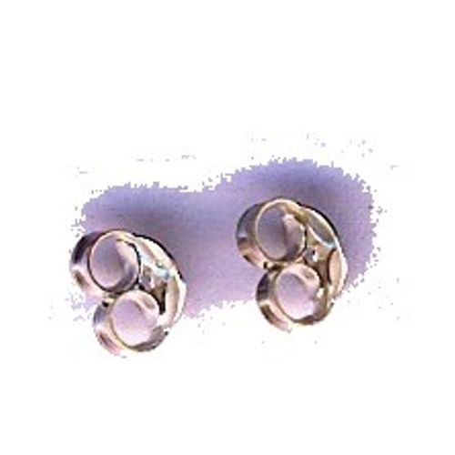Earrings Screws, silver