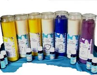 Magic of Brighid Glass Candles