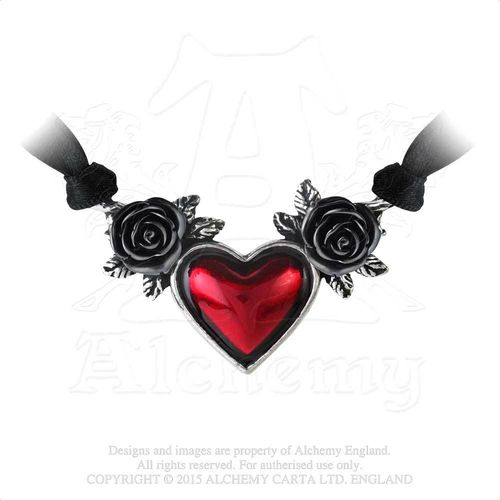 Alchemy Blood Heart Choker