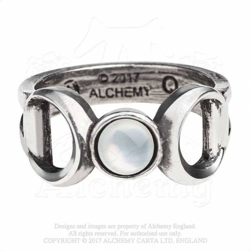 Triple Goddess Zinn Ring