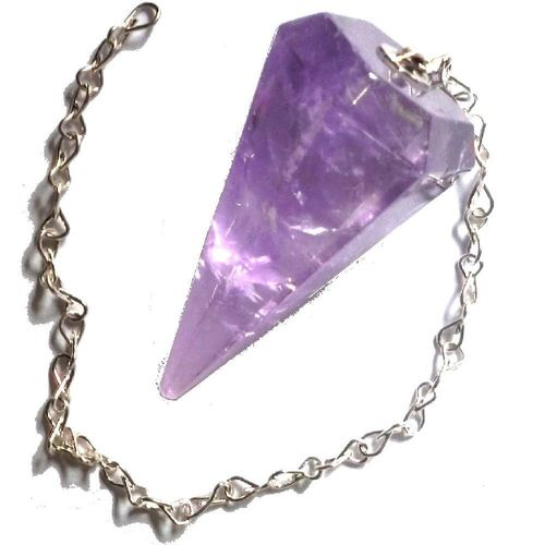 Pendulum Amethyst faceted
