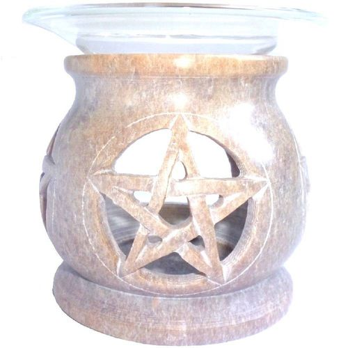 Aroma lamp with pentagram