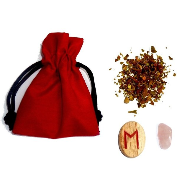 Mojo bag with Instructions, Energy