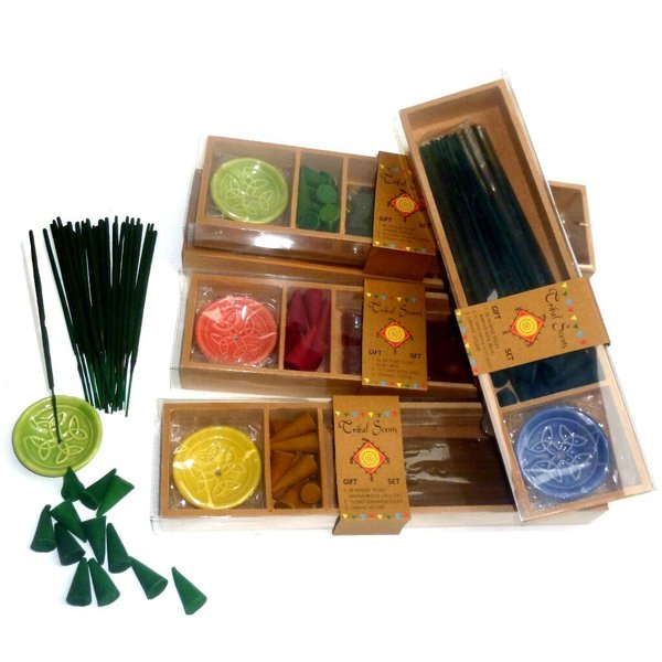 Incense Sticks Cones and Holder