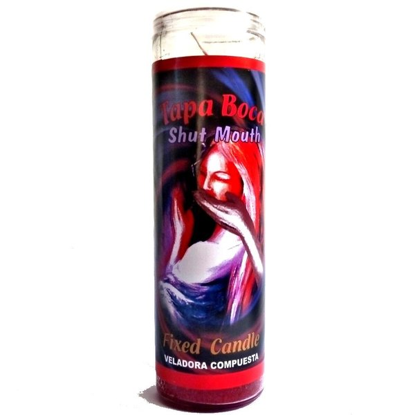 Shut Mouth, Mysticism glass candle