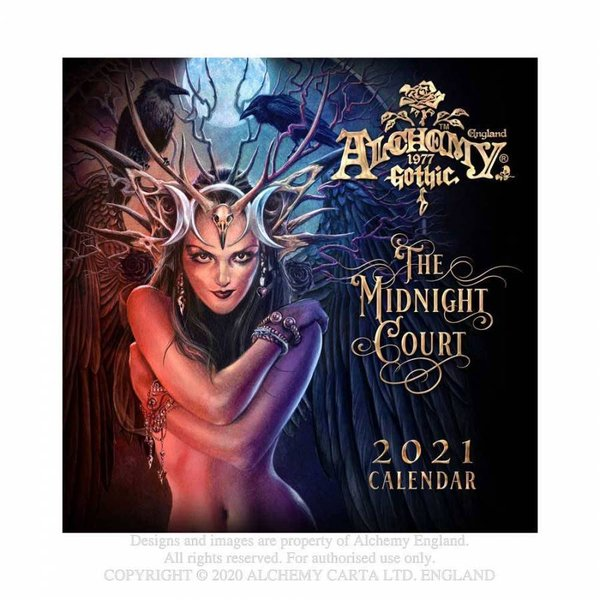 Calendar 2021 'The Midnight Court'