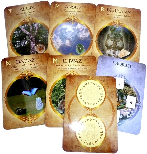 Rune Oracle, Cards & Book