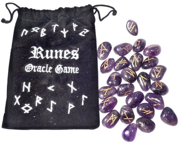 Amethyst Runes Set without instructions